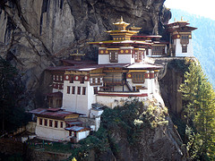 Taksang Monastery, Bhutan. Photo by Emily Davidow, All Rights Reserved