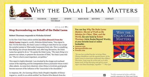 Why the Dalai Lama Matters - dalailamamatters.com